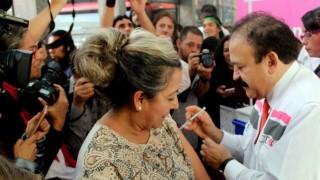 La vacuna contra la influenza es segura y gratuita: Armando Ahued, Titular de Salud CDMX